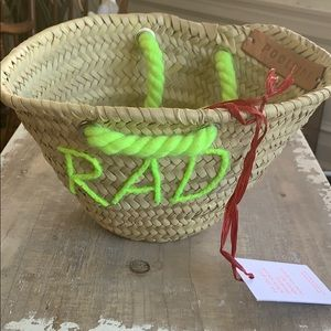 Poolside straw bag the L'Petite
